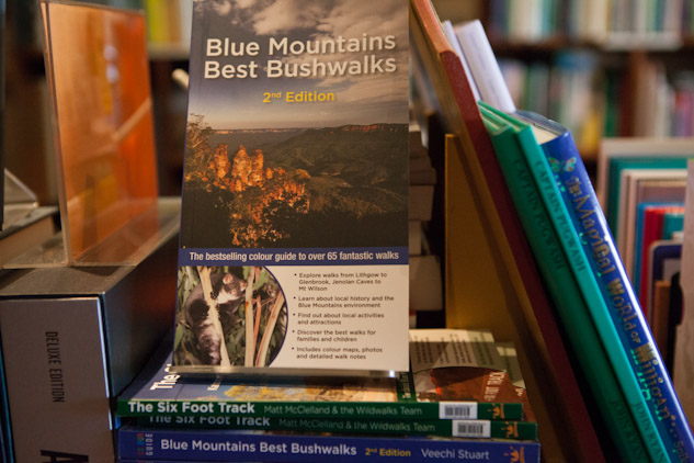 Photo of Blue Mountains Best Bushwalks 2nd edition in Lambdha Bookshop