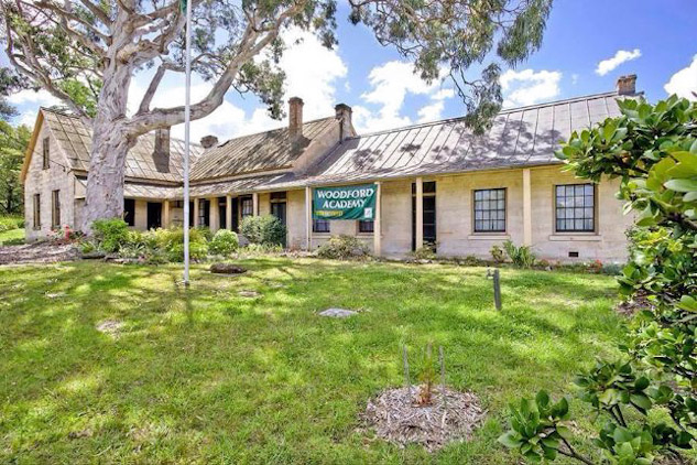Woodford Academy - one of the oldest dwellings in the Blue Mountains