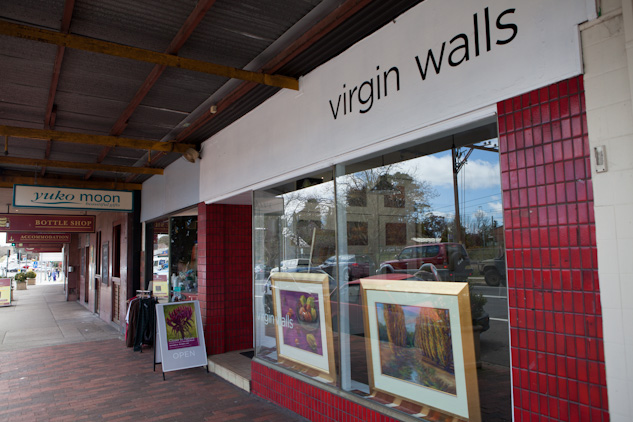 Virgin Walls Gallery Spcae Blackheath