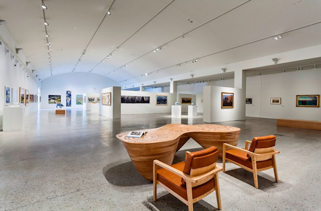 Interior photo of the Blue Mountains Art Gallery in Katoomba