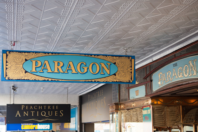 The historic Paragon Cafe in Katoomba